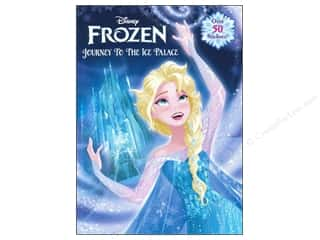 Books Journal & Gift Books: Golden Disney Frozen Journey To The Ice Palace Activity Book