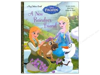 Books & Patterns Sale: Golden Disney Frozen A New Reindeer Friend Big Book