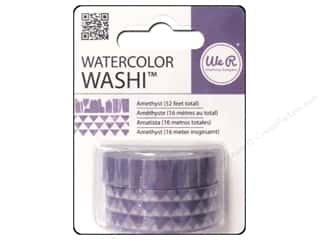 We R Memory Keepers Watercolor Washi Tape Amethyst