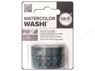 We R Memory Keepers Watercolor Washi Tape Ash