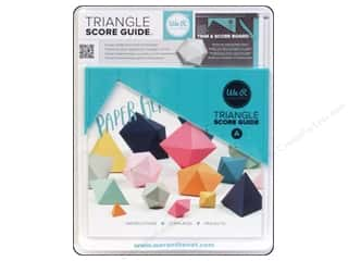 Seam Creasers Craft & Hobbies: We R Memory Tool Triangle Score Guide