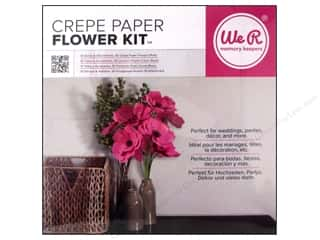 We R Memory Kits Crepe Paper Flowers Pink