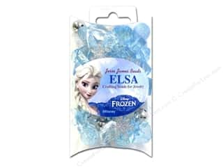Buttons Kids Crafts: Jesse James Bead Disney Frozen The Elsa Collection