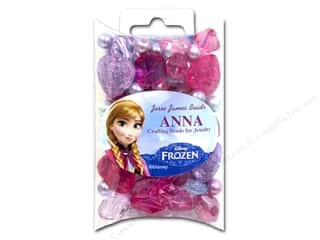 Buttons Kids Crafts: Jesse James Bead Disney Frozen The Anna Collection