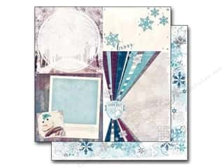 This & That Winter Wonderland: Bo Bunny 12 x 12 in. Paper Altitude Wonderland (25 pieces)
