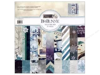 Crafting Kits Winter: Bo Bunny 12 x 12 in. Paper Collection Pack Altitude