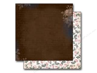 Bo Bunny 12 x 12 in. Paper Rose Cafe Espresso (25 piece)