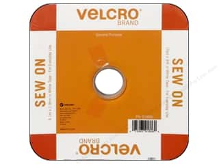 VELCRO Sew On Tape 3/4 in. x 30 ft. White (30 foot)