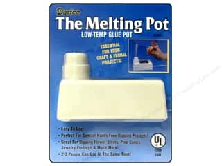 hot glue: Darice Glue Gun The Melting Pot Low Temp