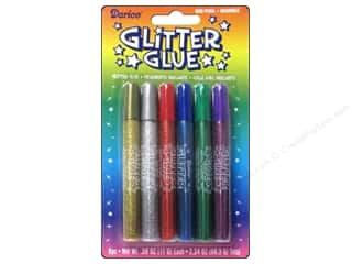 glitter glue: Darice Glitter Glue Pens Assorted Colors