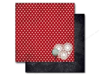 Stars Valentine's Day: Bo Bunny 12 x 12 in. Paper Star-Crossed Collection Star-Crossed (25 pieces)