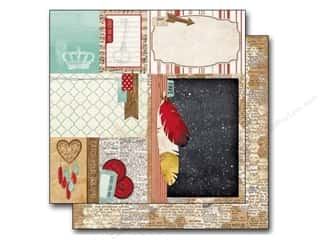 Stars Valentine's Day: Bo Bunny 12 x 12 in. Paper Star-Crossed Collection Honeycomb (25 pieces)