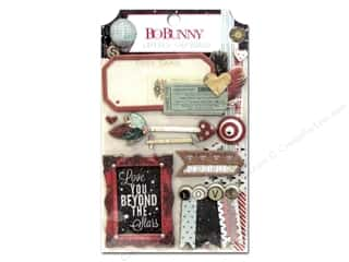 Bo Bunny Layered Chipboard Stickers Star-Crossed