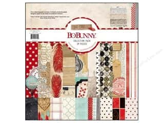Weekly Specials Bucilla Cross Stitch Kit: Bo Bunny 12 x 12 in. Paper Collection Pack Star-Crossed