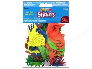 Clearance Darice Foamies Sticker: Darice Foamies Stickers 53 pc. Dinosaurs