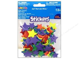Darice Foamies Sticker Mini Stars 120pc