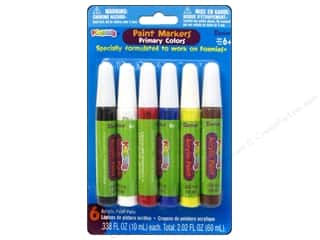 Darice Foamies Paint Marker Set Primary 6pc