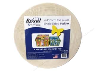 Bosal In-R-Form Fusible Foam Stabilizer 2 1/4 in. x 20 yd. White