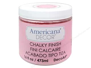 Finishes 16 oz: DecoArt Americana Decor Chalky Finish Innocence 16oz