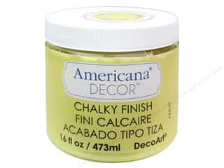Finishes 16 oz: DecoArt Americana Decor Chalky Finish Delicate 16oz