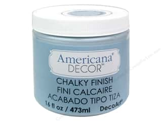 Finishes 16 oz: DecoArt Americana Decor Chalky Finish Serene 16oz