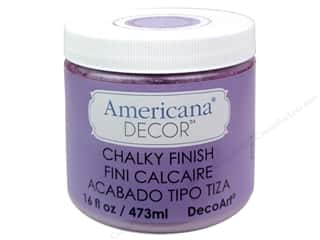 Finishes 16 oz: DecoArt Americana Decor Chalky Finish Remembrance 16oz