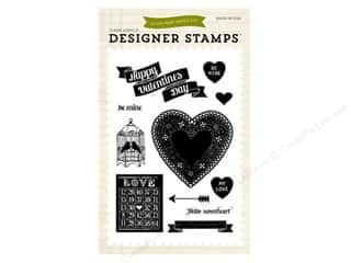 Love & Romance $8 - $12: Echo Park Designer Stamps Lucky In Love Hello Sweetheart