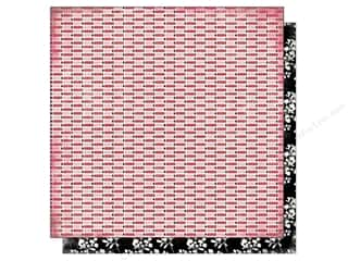 Carta Bella Valentine's Day: Carta Bella 12 x 12 in. Paper Words of Love Hugs & Kisses (25 pieces)