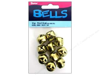 Darice $3 - $4: Darice Jingle Bells 3/4 in. Gold 10 pc.