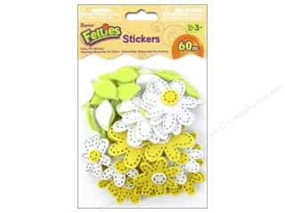 Darice Felties Sticker Stitch Daisies 60pc