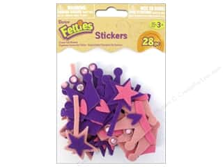 Darice Felties Sticker Crown with Gems 28pc