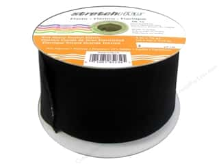 Rhode Island Elastic: Stretchrite Corset Repair Elastic 3 in. x 10 yd. Black (10 yards)