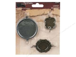 7 Gypsies Metal Rings: 7 Gypsies Frames 3 pc. Bi-Color