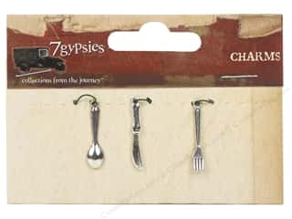 7 Gypsies Metal Rings: 7 Gypsies Charms 3 pc. Mini Cutlery