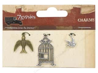 7 Gypsies Metal Rings: 7 Gypsies Charms 3 pc. Flight