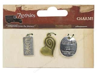 7 Gypsies Metal Rings: 7 Gypsies Charms 3 pc. Moments