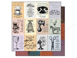 7 Gypsies Stamp Sets: 7 Gypsies 12 x 12 in. Paper Moments: A Novel Thought (15 pieces)