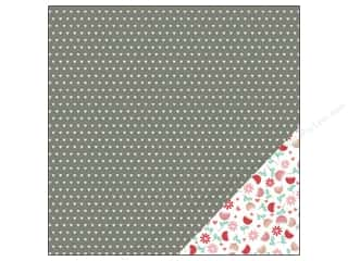 "Love & Romance New: Pebbles We Go Together Collection Paper 12""x 12"" Budding Romance (25 pieces)"