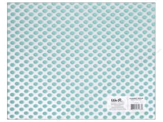 We R Memory Keepers Acetate Sheet 12 x 12 in. Neon Teal Dot (12 piece)