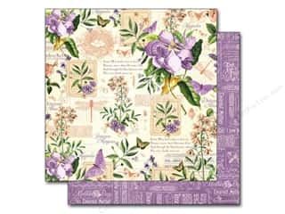 "Mothers New: Graphic 45 A Time To Flourish Collection Paper 12""x 12"" May (25 pieces)"