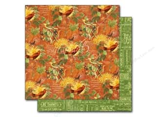 Fall / Thanksgiving New: Graphic 45 12 x 12 in. Paper A Time To Flourish November Flourish (25 pieces)