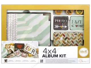 We R Memory Keepers Album Kit 4 x 4 in. Instagram - Shine