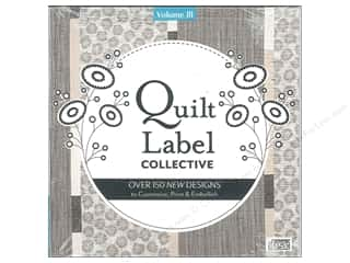 C&T Publishing Quilt Label Collective CD - Volume 3