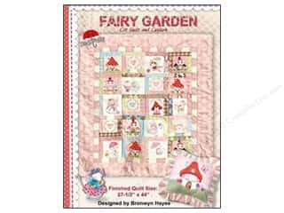 Patterns Angels/Cherubs/Fairies: Red Brolly Fairy Garden Quilt Pattern
