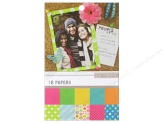 "New Year $4 - $6: K&Company Paper Pad 4.75""x 6.75"" Color Basics Radiant"