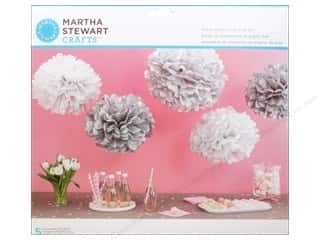 Martha Stewart Kit Pom Pom Patterned Silver Picture