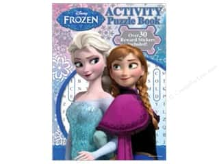 Harper Collins Activity Books / Puzzle Books: Bendon Activity Puzzle Book with Stickers Disney Frozen