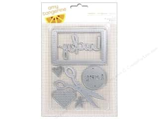 Dies New: American Crafts Dies 7 pc. Amy Tangerine Stitched