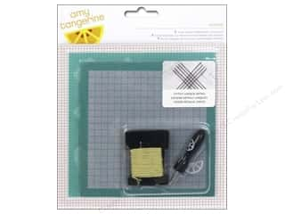 Punches New: American Crafts Embroidery Kit Amy Tangerine Stitched Oxford