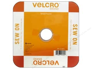 Staple Tapes: Velcro Sew On Tape 3/4 in. x 30 ft. Black (30 feet)
